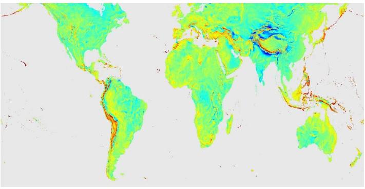 Gravitymap