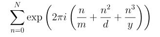 Exponentialsum2
