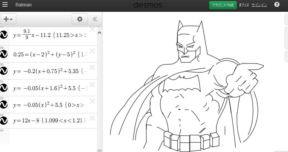 Batmandesmos
